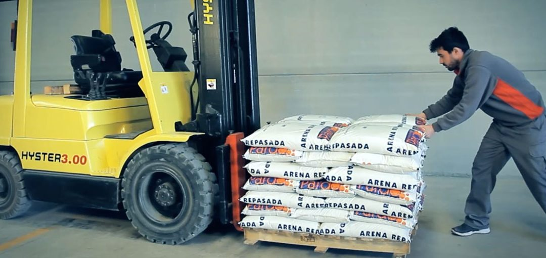 GRIP FIX™ palletizing adhesives, a new game changing technology for securing pallet loads